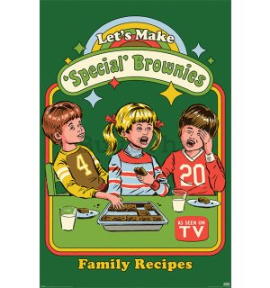 Poster - Let's Make Special Brownies, Steven Rhodes