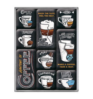 Set magneta - Anatomy of Coffee