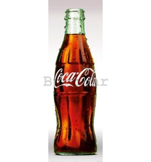 Poster - Coca-Cola contour bottle
