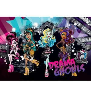 Foto tapeta: Monster High (Drama Ghouls) - 184x254 cm