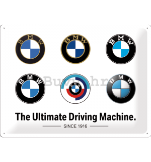 Metalna tabla: BMW (Logo Evolution) - 40x30 cm