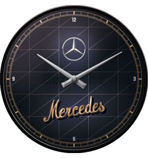 Retro sat - Mercedes-Benz (Silver & Gold)