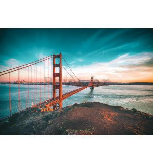 Foto tapeta: Most San Francisco - 184x254 cm