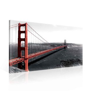 Slika na platnu: Golden Gate Bridge (3) - 75x100 cm