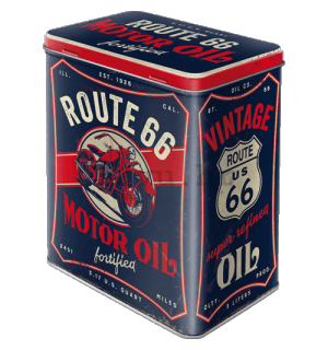 Metalna doza L - Route 66 Motor Oil