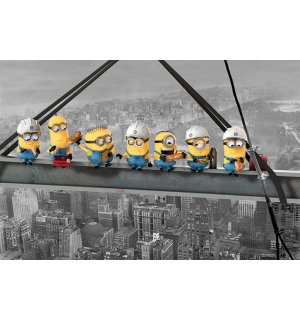 Poster - Despicable Me (Minions Lunch on a Skyscraper)