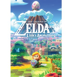 Poster - The Legend Of Zelda (Links Awakening)