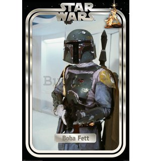 Poster - Star Wars (Boba Fett Retro Packaging)