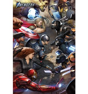Poster - Avengers Gamerverse (Face Off)