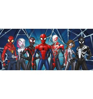 Foto tapeta Vlies: Spiderman Spider-Verse (1) - 202x90 cm