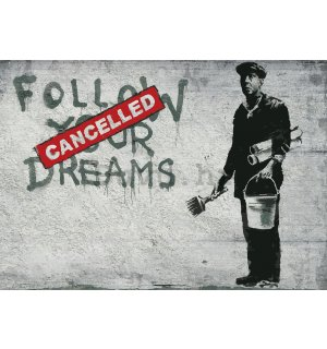 Vlies foto tapeta: Follow Your Dreams (Cancelled) - 416x254 cm