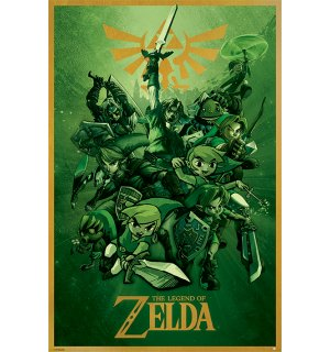 Poster - The Legend Of Zelda (Link)