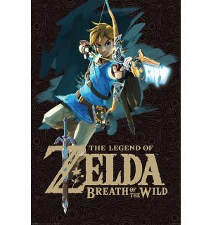 Poster - Zelda Breath Of The Wild