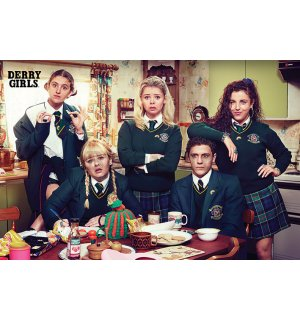 Poster - Derry Girls (Kitchen)