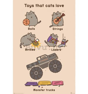 Poster - Pusheen (Toys For Cats)