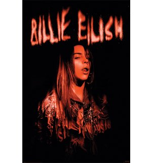 Poster - Billie Eilish (Sparks)