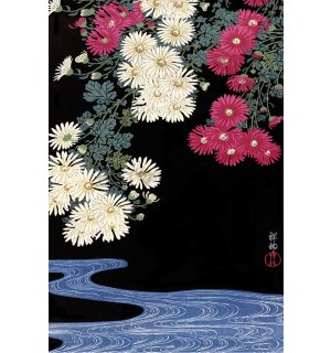 Poster - Ohara Koson, Chrysanthemum And Running Water