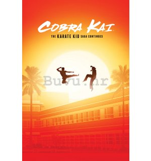 Poster - Cobra Kai (The Saga Continues)