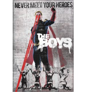 Poster - The Boys Homelander Stencil