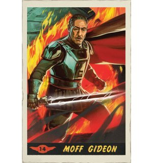 Poster - Star Wars The Mandalorian (Moff Gideon Card)