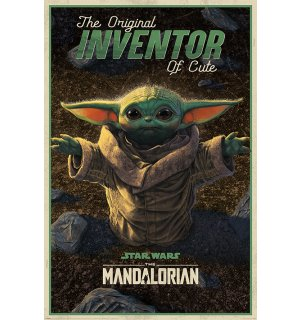 Poster - Star Wars: The Mandalorian (The Original Inventor Of Cute)