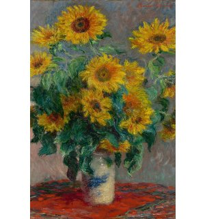 Poster - Monet (Bouquet Of Sunflowers)