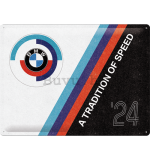 Metalna tabla: BMW Motorsport (Tradition Of Speed) - 40x30 cm