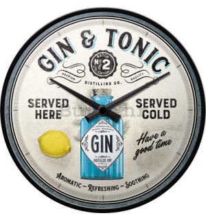 Retro sat - Gin & Tonic Served Here